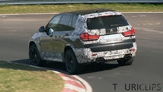 2015 bmw x5m f85 spied testing on the nrburgring