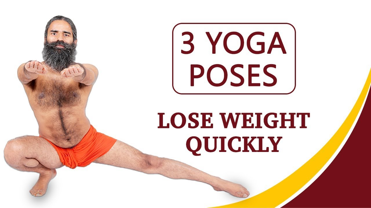 3 Yoga Poses To Lose Weight Quickly Youtube
