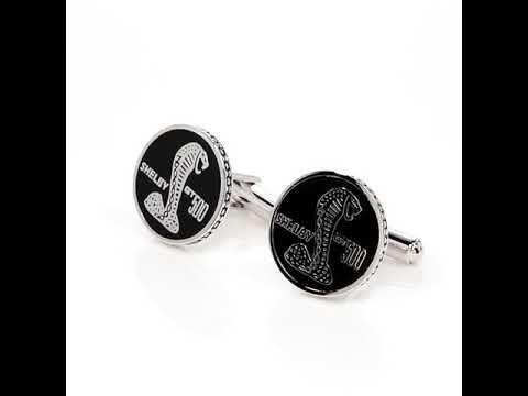 SHELBY GT500 Cufflinks from SPARTAN Jewelry