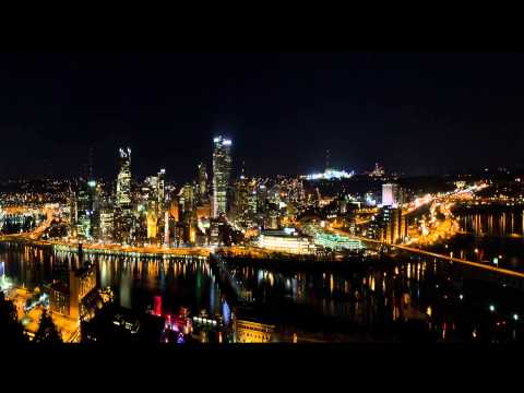 Pittsburgh, Pennsylvania Night Skyline