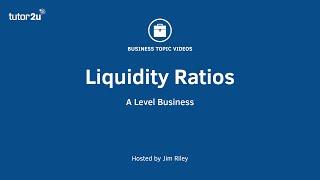 Finance: Liquidity Ratios Explained