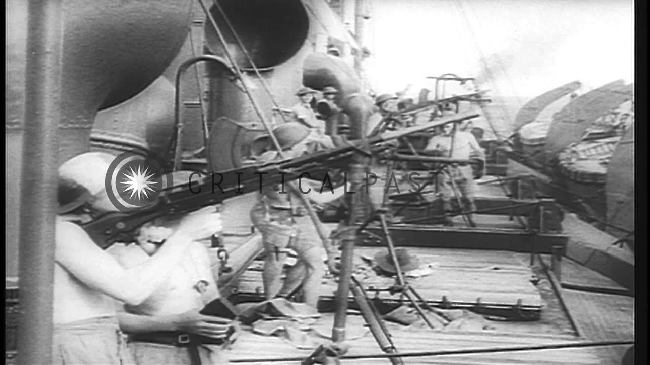 Japanese Attack On American Ships And Carriers In The