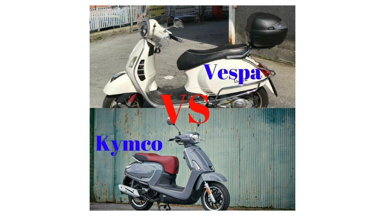 Hot News Comparison 2018 Kymco Like 150i Vs 2018 Vespa Gts 300