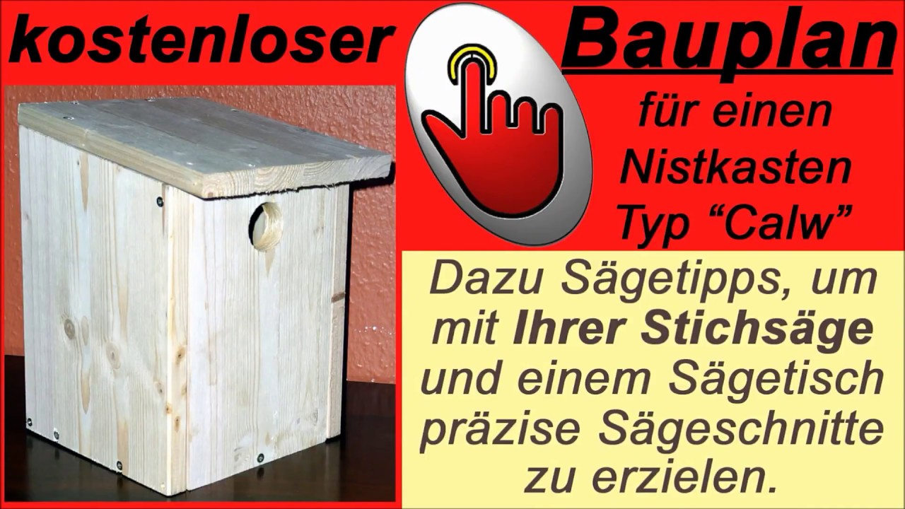 nistkasten selber bauen ein vogelhaus f r blaumeise und. Black Bedroom Furniture Sets. Home Design Ideas