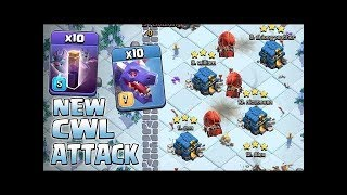 New Meta 9 Dragons + 8 Bat Spells TH12 3 Star Attacks Clash of Clans