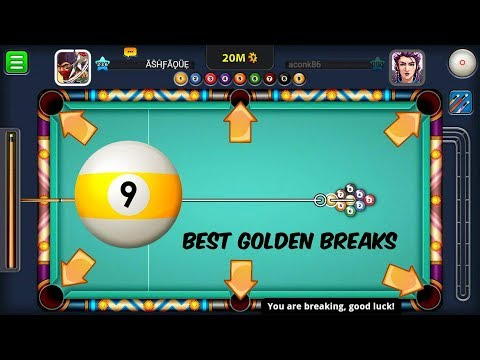 TOP 5 MOST EFFECTIVE GOLDEN BREAK - 9 BALL POOL - MIAMI BEACH | 8 BALL POOL