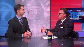 August 12, 2018: Sen. Cotton joins Talk Business and Politics with Roby Brock