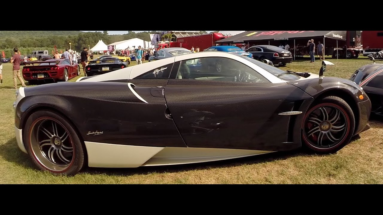Rarest Cars In The World At Dream Ride -The King Pagani - Bugatti ...