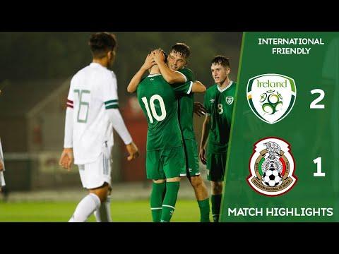 HIGHLIGHTS | Ireland U17 2-1 Mexico U17 - International Friendly