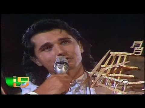 SCIALPI VINCE IL FESTIVALBAR 1988 CON PREGHEREI  PREMIAZIONE