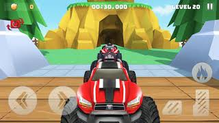 Mountain Climb Stunt 3D - Car Stunts Games Android IOS - Kids Games - Graceful Gameplay