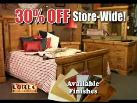 Lorec Ranch Furniture 4th Of July Sale 2010 Oklahoma City TV Commercial
