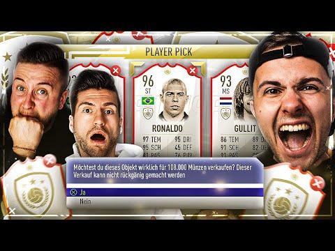 FIFA 19: ICON DISCARD Battle VS Gamerbrother 🔥😱 OPTIMUS PRIME ICON geht BADEN ... !!