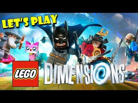 LEGO DIMENSIONS - Follow the LEGO Brick Road + LEGO Movie Adventure World!!!