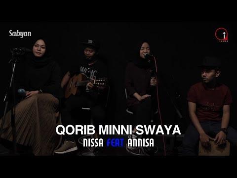 QORIB MINNI SWAYA - SABYAN Feat Annisa (Lirik Music Video) Download Mp3