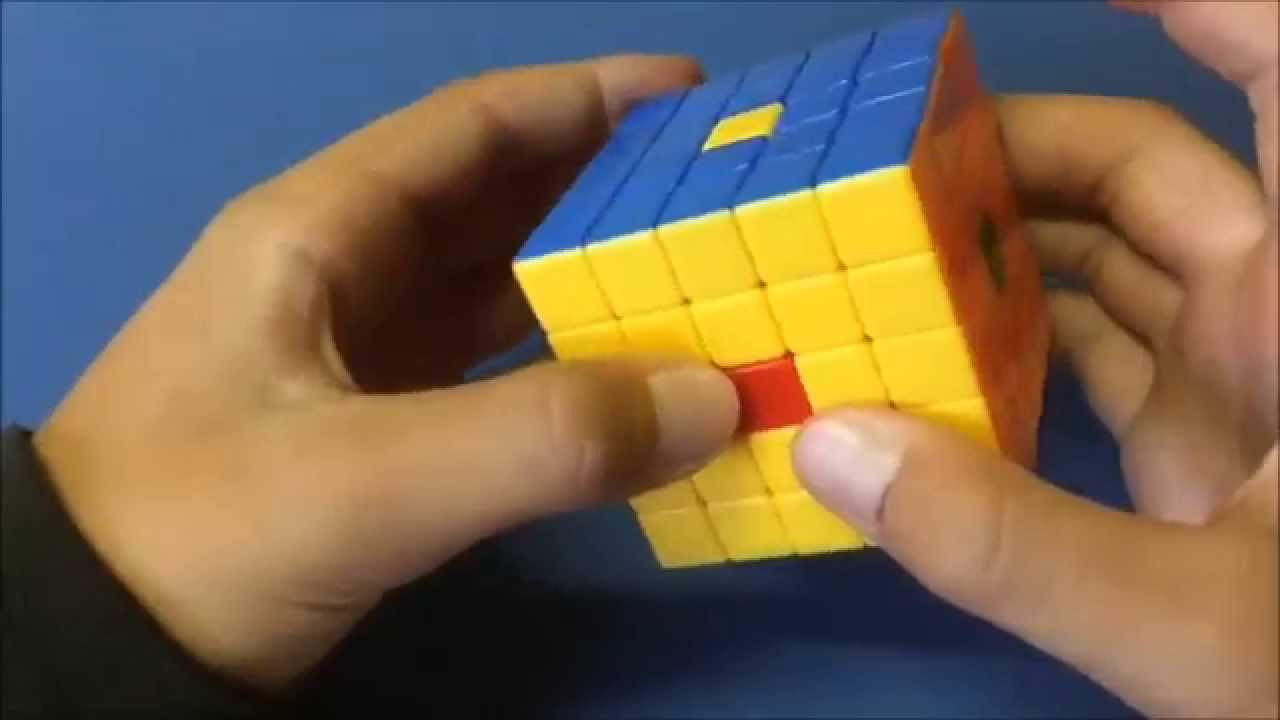 how to make donut on rubix cube