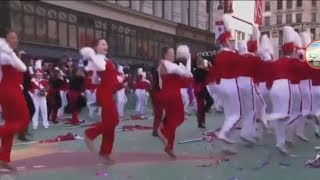 fortnite dances in the macys thanksgiving day parade