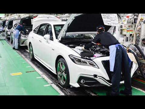 Toyota & Lexus Assembly Line - Japanese Car Factory in Motomachi