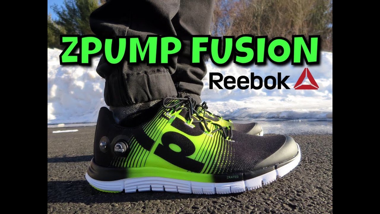 reebok inflatable shoes