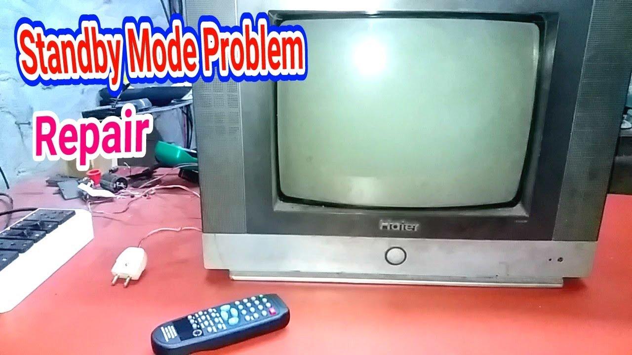 STANDBY MODE PROBLEM HAIER TV FAULT REPAIR  (part- 3)