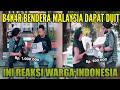 INI REAKSI WARGA INDONESIA BILA B4K4R BENDERA MALAYSIA DAPAT DUIT! | Cak Lonjong SOCIAL EXPERIMENT