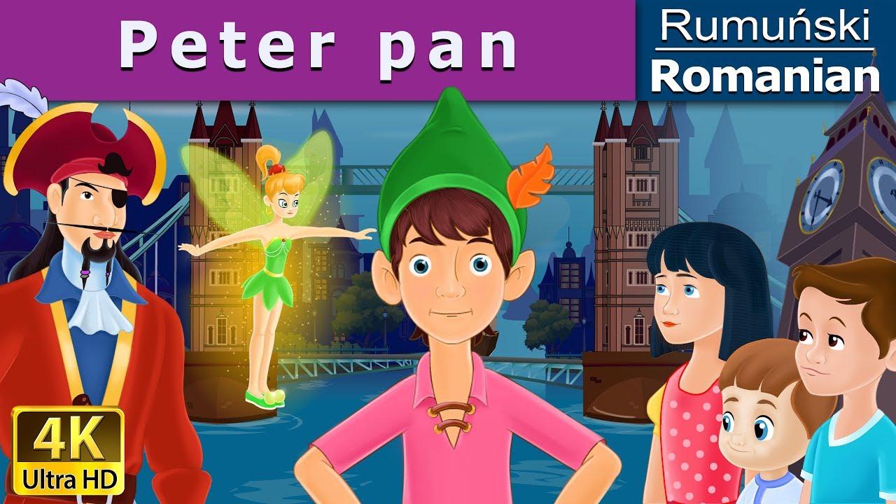 Peter Pan | Povesti pentru copii | Basme in limba romana | Romanian Fairy Tales