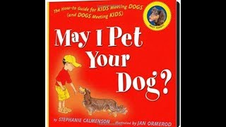 "Read Aloud for 2nd Grade: ""May I Pet Your Dog?"" A Story with Dr. Lori"