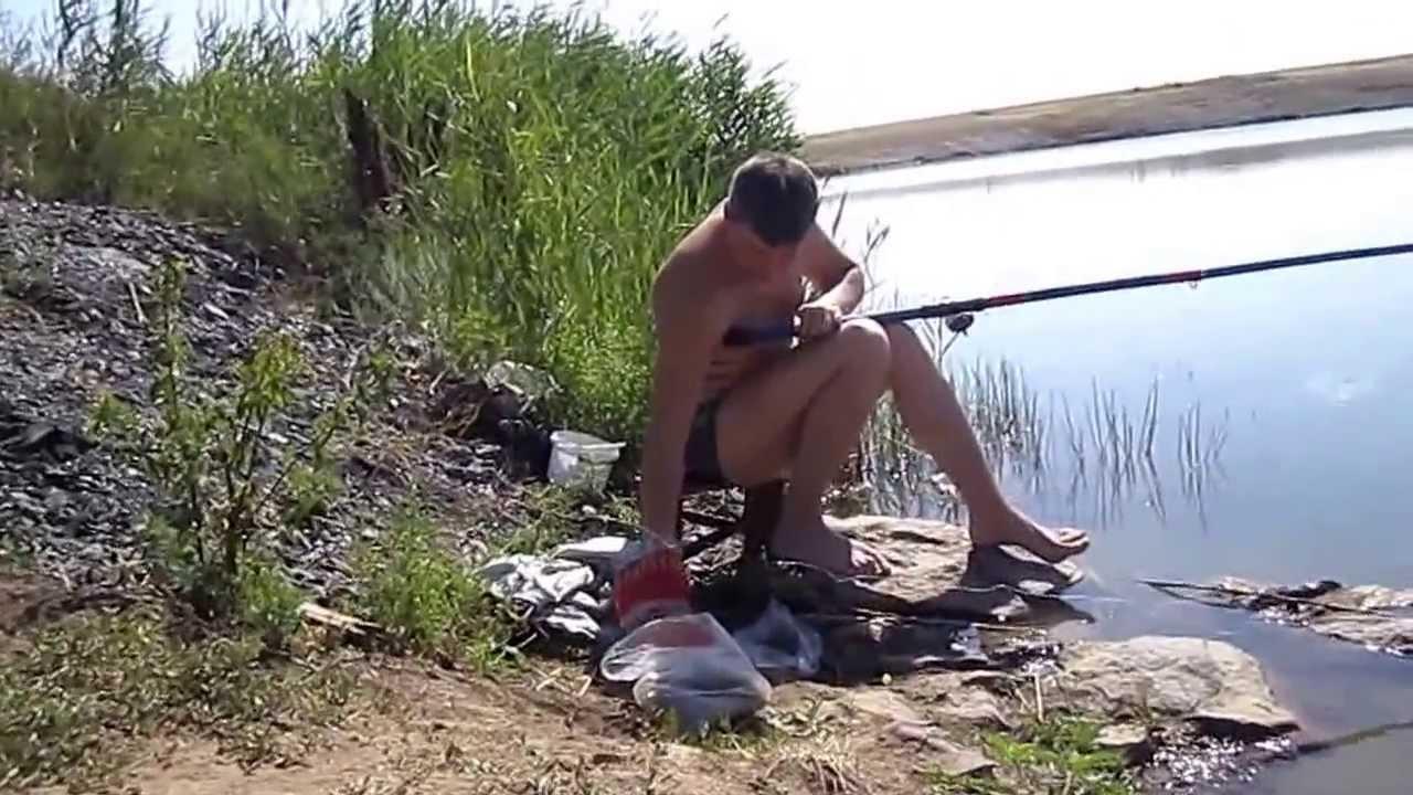 все о рыбалке ловля пескаря видео