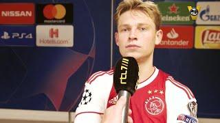 Een knotsgekke wedstrijd tussen Ajax en Bayern München eindigde in ...