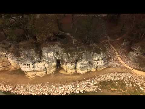 Cave in Rock, Illinois on the Ohio River
