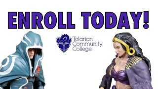 mtg tolarian community college commercial 1 for magic the gathering