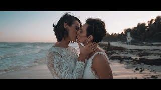 Caribbean Beach Wedding - same sex wedding