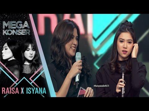 Yuk Lihat Keahlian Terpendam Raisa Dan Isyana | Mega Konser Raisa X Isyana 2017