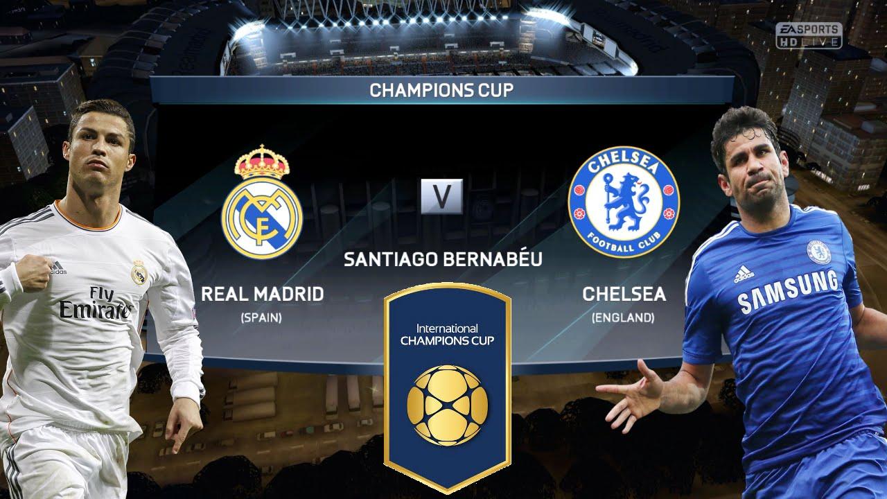 Resultado de imagem para Real Madrid Vs Chelsea International Champions Cup