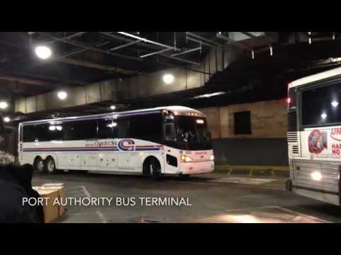 Coach USA 2012 MCI D4505 21838, New Jersey Transit 2002 MCI D4500 8295 & YO Bus 2000 MCI 102DL3 6505