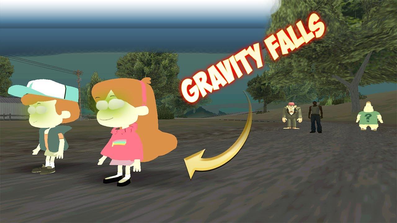 Me Encontré a Mabel y a Dipper de Gravity Falls en el GTA San Andreas, y esto me ocurrió!