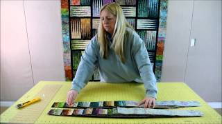 Judy Sorts the Quiltworx Bali Pops to make the Stepping Stones Pattern!