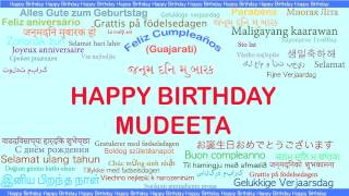 Mudeeta   Languages Idiomas - Happy Birthday