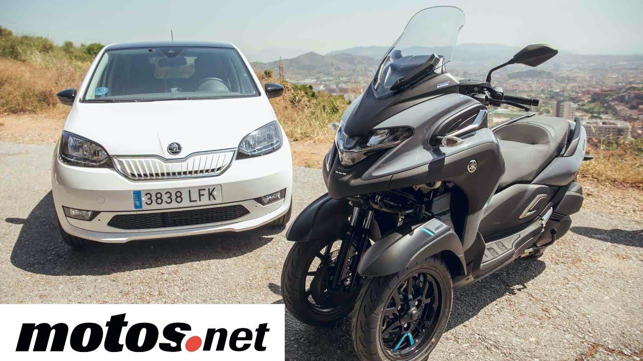 Yamaha Tricity 300 / Prueba / Test / Preview en español