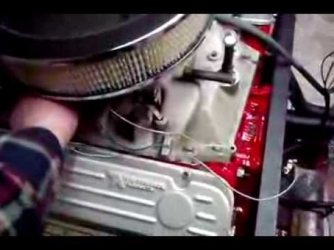 Rebuilt Buick 455 (7 5 liter) V8 after breaking in