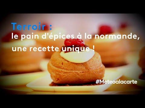 Les pains d'épices de Bertrand dans météo à la carte sur France 3