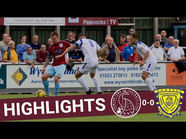 Extended Highlights: Taunton Town 0-0 Basingstoke Town