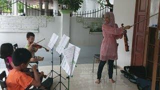 Belajar Violin kanak kanak Kelas Kedua 11 11 13