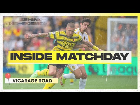 Wolves visit the Vic    Inside Matchday    Watford 0-2 Wolves