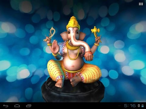 3D Ganesh, Its Free Mobile App & Live Wall Paper