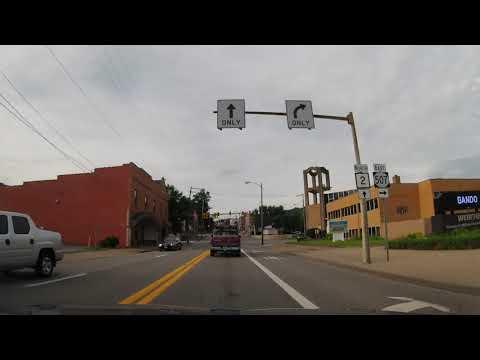 Driving Through Weirton, West Virginia
