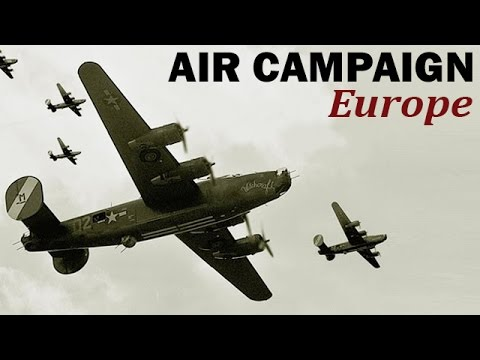 Allied Air Campaign Over German-held Europe | World War 2 Documentary | 1945