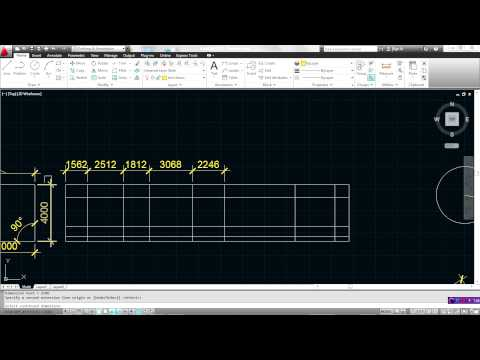 ghi kich thuoc trong AutoCAD