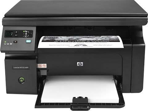 How To Install HP Laser Jet Pro 1132 MFP Driver | HP 1132MFP