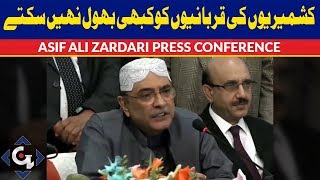 Asif Ali Zardari Press Conference on Kashmir Issue - 2 February 2019 | GTV News